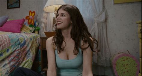 Alexandra Daddario Moist And Nipple Poking Behind The How To Get Your Fix Of Alexandra Daddario This Halloween