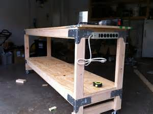 cool work bench idea manteresting