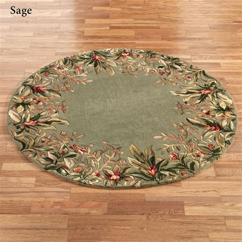 tropical accent rugs tropical border round area rugs