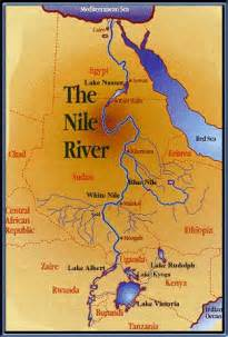 Nile River On World Map by Map Of The Nile Submited Images
