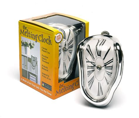 Melting Shelf Clock by Melting Clock Cooltagged