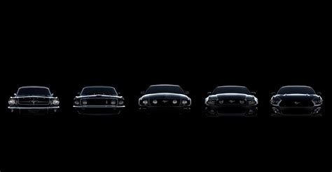 the evolving design themes of the 2015 ford mustang video 50 years of ford mustang evolution mustang news