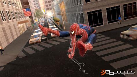 web swinging games spider man 3 para ps3 3djuegos