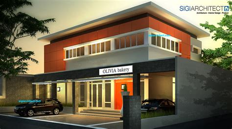 desain jas kantor desain kantor modern minimalis pabrik roti bakery