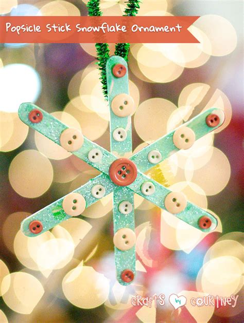 kid ornament craft crafts for