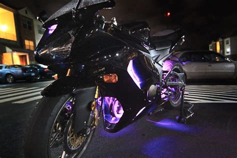 led light strips motorcycle motorcycle led lighting kit weatherproof rgb color