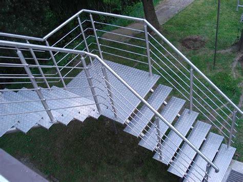 edelstahl treppengeländer treppengel 228 nder aus edelstahl f 252 r innen und au 223 en zum