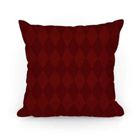 maroon argyle pillows and pillow cases human