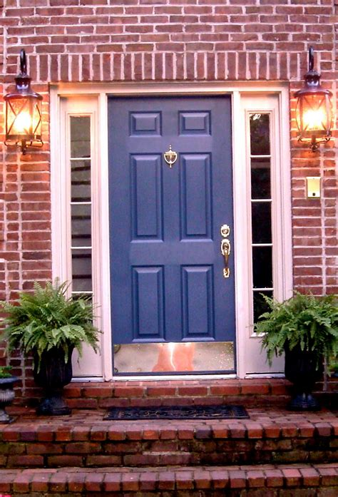 What Color To Paint Front Door Of Brick House Front Door Color