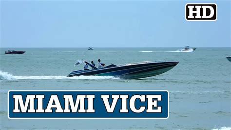 miami vice boat for sale original miami vice boat at cocoa beach youtube