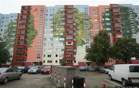 artists turn berlin apartment complex into 22 000 square