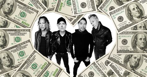 metallica record sales six metallica albums made the highest selling metal albums