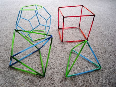 How To Make 3 Dimensional Shapes With Paper - the map is not the territory solids and an observation on