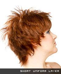 One Layer Haircut Pictures
