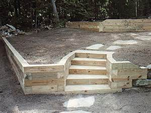 Landscape Timber Ideas 25 Best Ideas About Landscape Timbers On