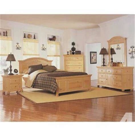 9 broyhill fontana bedroom set with mattress
