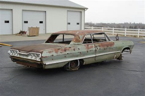 year one impala parts sell used 1963 chevrolet impala bel air biscayne coupe two