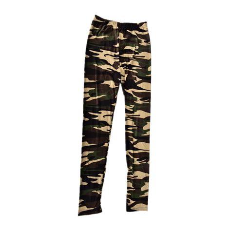 Legging Army camouflage army stretch