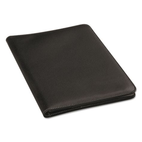 Bi Fold Paper Towels - leather look pad folio inside flap pocket w card holder