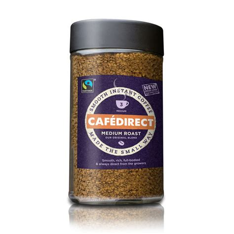 Cafedirect Special Instant Fairtrade On The Go by Cafe Direct Fairtrade Coffee 100g Jar Apollo Business