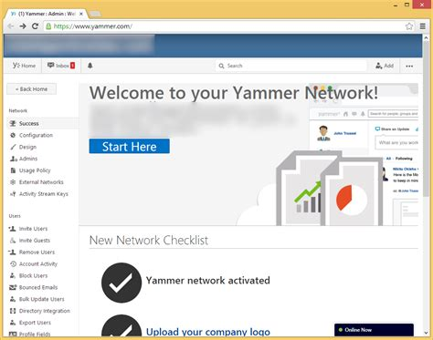 Office 365 Yammer Admin Yammer And Office 365 Enterprise Stromberg