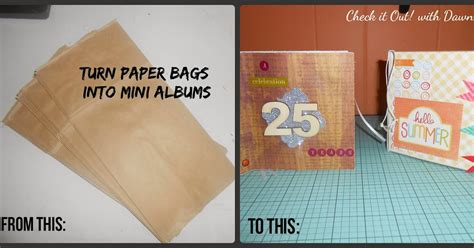 Paper Bag Warna Mini Bc check it out with tbccrafters paper bag mini albums a washi pennant banner
