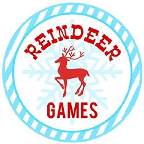 printable reindeer games free free party printable downloads for your party catch my party