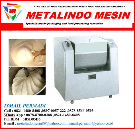 Mesin Horizontal Dough Mixer Whb 50 metalindo mesin horizontal dough mixer whb 15 getra