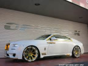 Rolls Royce Gold White Rolls Royce Wraith With Gold Accents From Office K