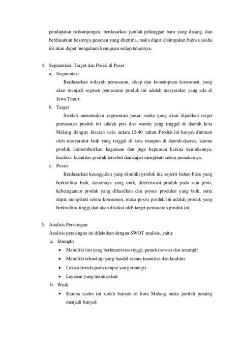 format laporan studi kelayakan bisnis contoh laporan studi kelayakan bisnis