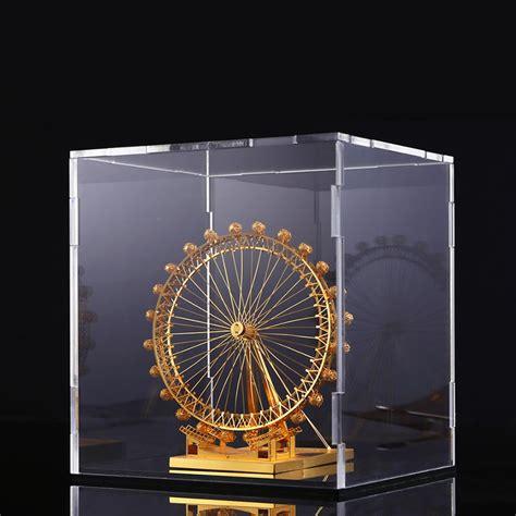 Promo Promo Box Akrilik Box Acrylic Box Display Figure Kotak Ka acrylic box for assembly model display acrylic dust