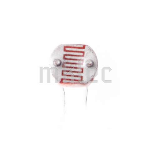 light variable resistor gl5537 ldr light dependent resistor