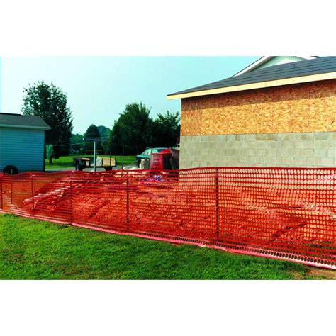 safety snow fence yellow o ring jaydee boen