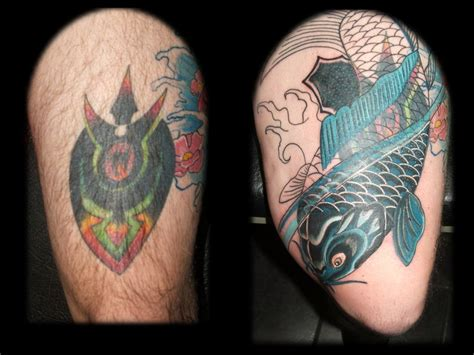 leg cover up tattoos big cover tattoos