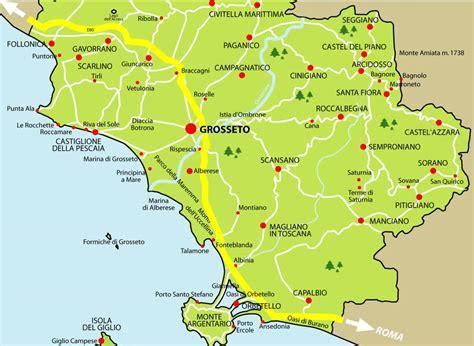 della maremma grosseto maremma cartina geografica tiesby nelson