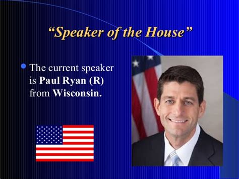 who is current speaker of the house u s legislative branch