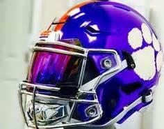 College Football Aufkleber Auf Helm by Shoc Smoke Chrome Football Fits Riddell Speed Flex Helmet