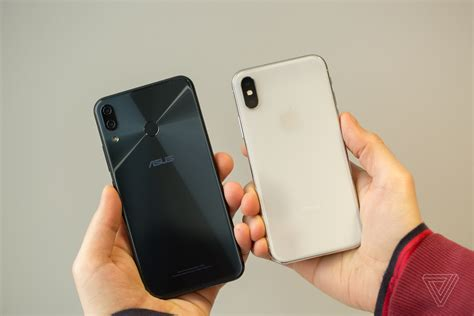 X Iphone 5 the asus zenfone 5 is an iphone x clone with big speakers