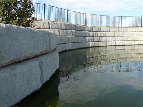 Grand Prairie Memorial Gardens by Retaining Wall Systems Si Precast Concrete