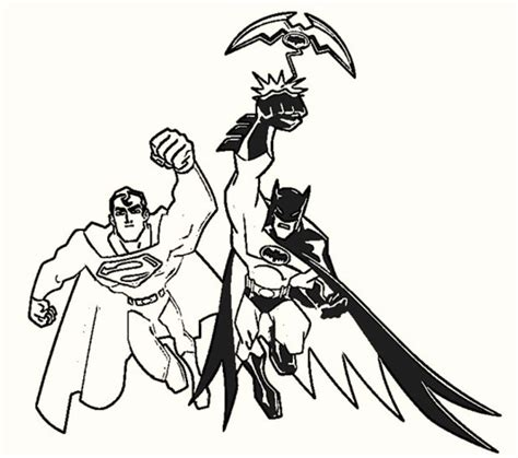 batman vs superman coloring sheets