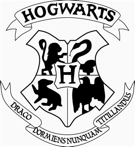 Hogwarts Logo Outline by 10 Digits The Hogwarts Acceptance Letter