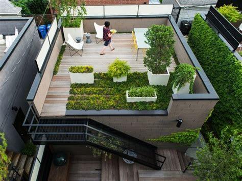 gestaltung dachterrasse un jardin sur le toit pourquoi pas astuces bricolage