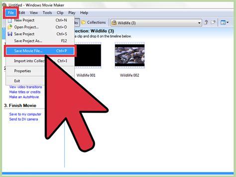 tutorial de como fazer video no windows movie maker como fazer um trailer no windows movie maker 6 passos