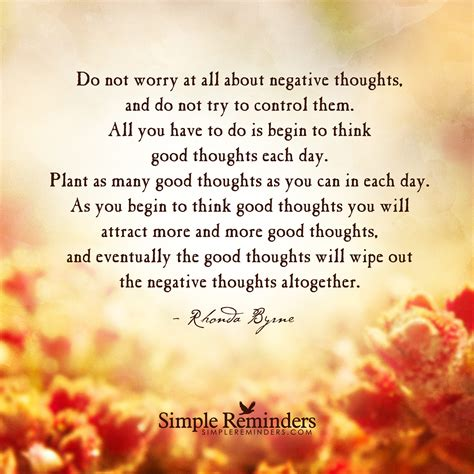 plant good thoughts by rhonda byrne