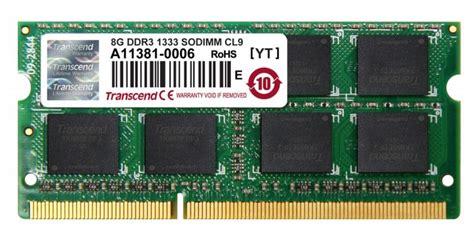 Memory Team Mac Sodimm Ddr3 2gb 1333mhz Tad32048m1333hc9 S 8gb transcend jetram ddr3 pc3 10666 1333mhz cl9 so dimm laptop memory module