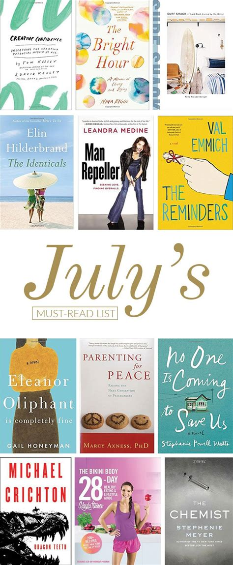 shopping guide juli 2017 bloggers and brands the new books you need to read this july glitter guide