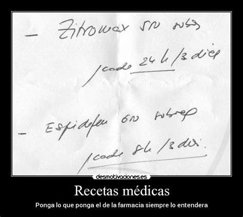 imagenes frases medicas recetas m 233 dicas desmotivaciones