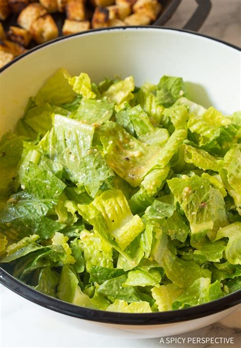 best ceasar salad recipe the best steakhouse caesar salad recipe a spicy perspective