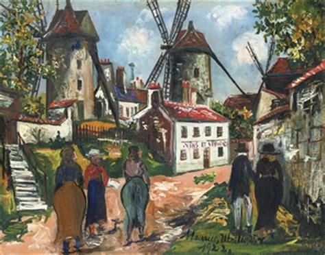 Cing Les Moulins Noirmoutier 1922 by Maurice Utrillo 1883 1955 Les Anciens Moulins De La