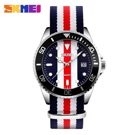 Skmei Casual Colorful Army Water Resistant 30m 2 skmei jam tangan analog pria 9133c black white